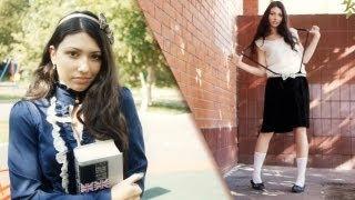 Образ школьницы из сериала сплетница.