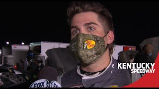 Gragson on post-race fight with Burton: 'We're all racing hard' | NASCAR at Kentucky