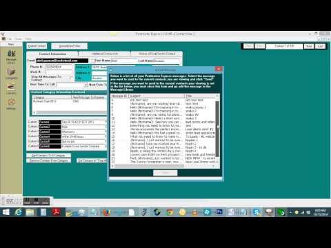 Postmaster Software Screenshare WALKTHROUGH Part 2