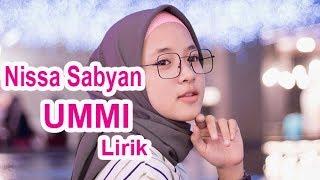 Terbaru | Nissa Sabyan - UMMI Lirik
