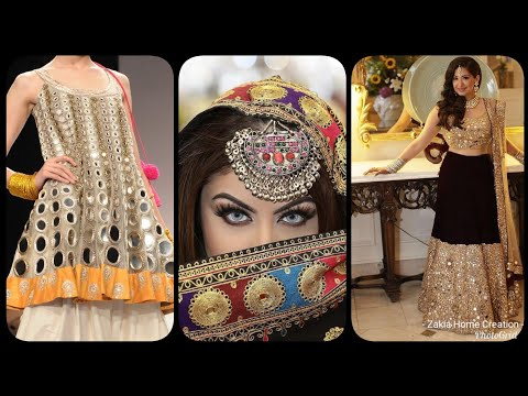 Pakistani Idian Handmade Blouse Choli Top Lehenga Skirt wear ....