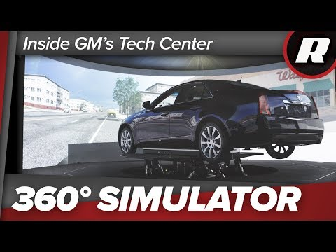 GM's 360-degree simulator is the ultimate Gran Turismo gaming rig
