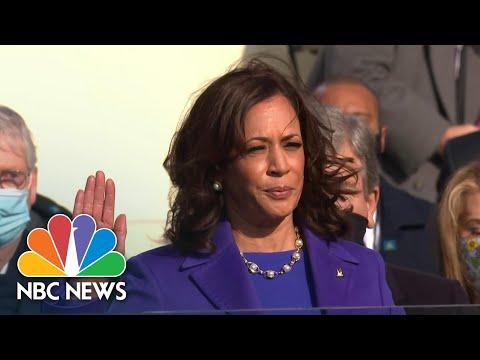 Kamala Harris Sworn In As Vice President | NBC News