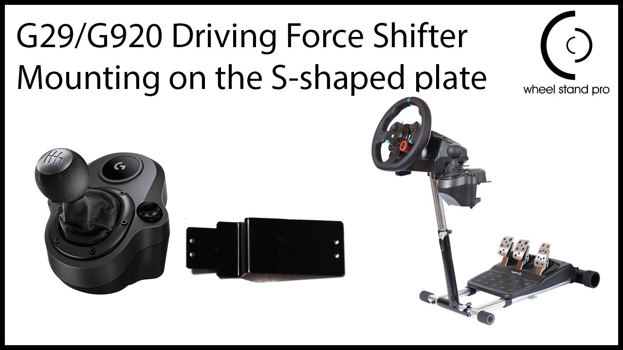 G29/G920 Driving Force Shifter setup