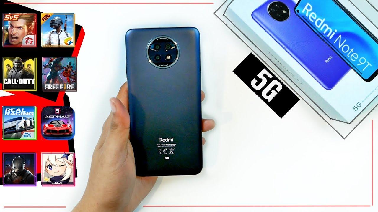 Redmi Note 9T 5G กับ 8 เกม | เกมหนักไหว แต่เกมปกติไม่ไหวจริงหรอ ??