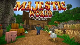 Majestic World - Minecraft Marketplace Texture Pack