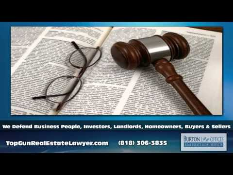 Commercial Real Estate Law Encino CA - Burton Law Offices - Real Estate Legal Services