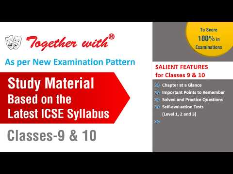 New Releases for ICSE & ISC Classes 9,10 &12th(Study Material