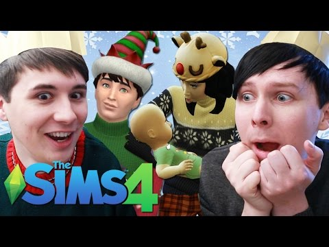 THE HOWLTER FAMILY CHRISTMAS - Dan and Phil Play: Sims 4 #33