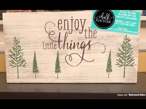 """Chalk Couture Designer Dollars FREE Haul and """"Enjoy The Little Things"""""""