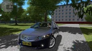 City Car Driving 1.4.1 Honda Accord Euro [G27]