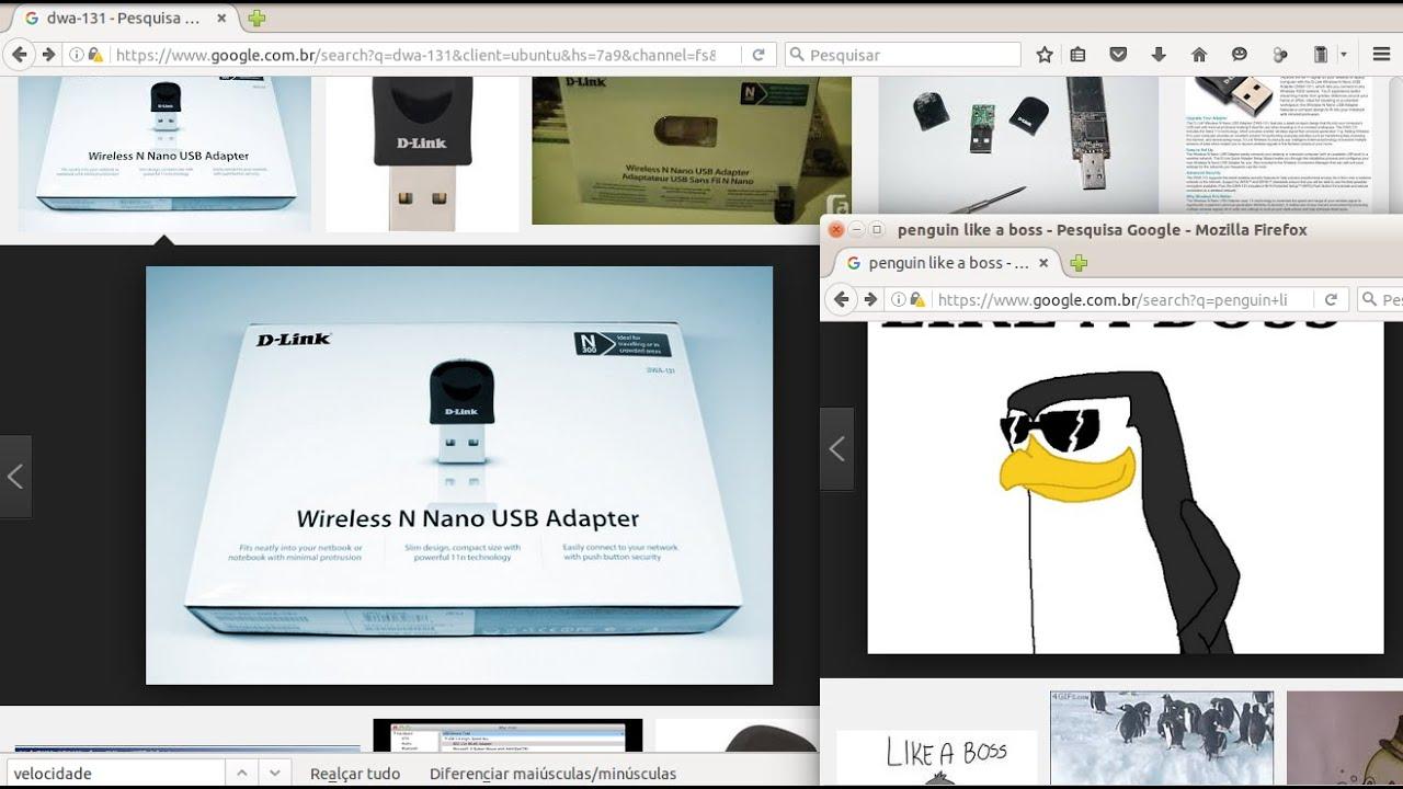 Como instalar wifi usb no Ubuntu, Linux Mint e Fedora - placa dwa-131