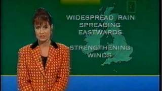 ITV National Weather - December 26th 1994