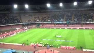 VIDEO NAPOLIMAGAZINE.COM - Napoli-Sampdoria, Napule è e saluto del tattico Antonio Gomez