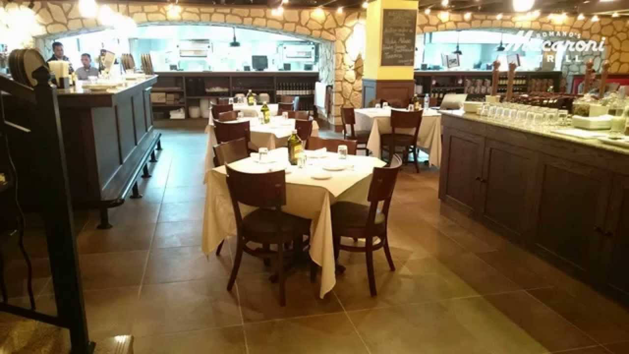 romano 39 s macaroni grill saudi arabia riyadh youtube. Black Bedroom Furniture Sets. Home Design Ideas