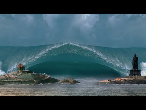 Biggest Tsunami Caught On Camera   Flash Flood Caught On Camera #14