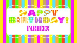 Farheen   Wishes & Mensajes - Happy Birthday
