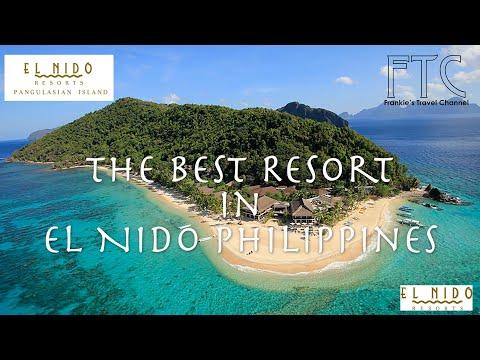 El Nido Resorts Pangulasian Island in 4K - Capony Villa 潘古拉西安島渡假村