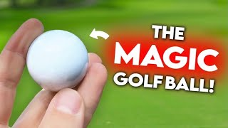 MAGIC STRAIGHT FLYING DIMPLE FREE GOLF BALL | Peter Finch vs Matt Fryer