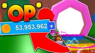 INSTANT *MILLIONEN* IN CANDY LAND DIGSITE!! - Roblox Mining Simulator (Codes)
