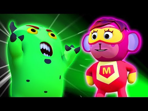 SUPERHERO SAVES THE WORLD | ORIGINAL SONG | 3D Nursery Rhymes For Kids By All Babies Channel
