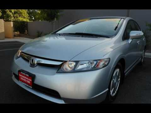 2006 Honda Civic Hybrid w.Navigation * New Tires * Clean Gas Saver for sale in SACRAMENTO, CA