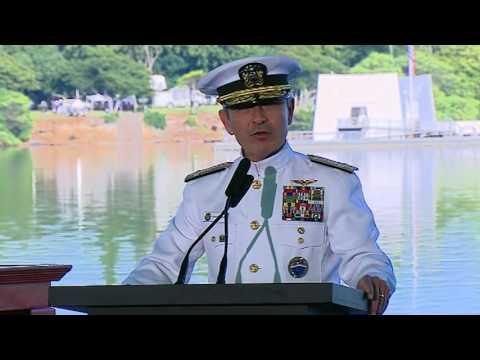 Admiral Harry Harris Marking the 75th Anniversary of the Attacks on Pearl Harbor and Oahu