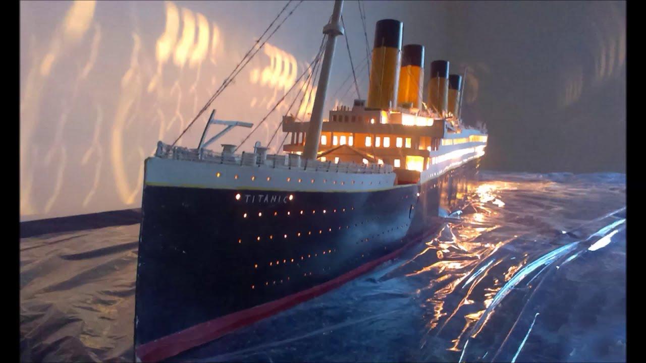 Titanic Model 1 200 Scale Youtube