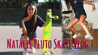 Video Natalie Pluto Skate Vlog download MP3, 3GP, MP4, WEBM, AVI, FLV November 2017