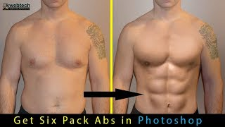 Quick Six Pack Abs Using Photoshop CC - 06