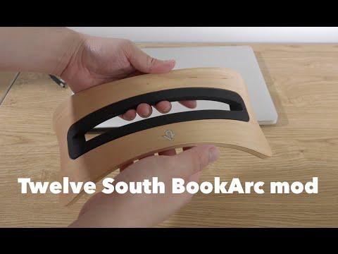 43fee833e62 Twelve South BookArc mod Stand for MacBook - Birch - YouTube
