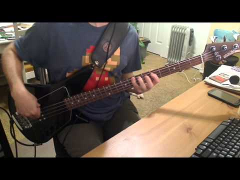 Big Drill Car - In A Hole Bass Cover