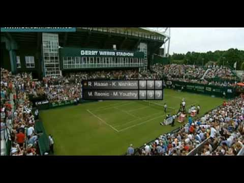 Haase-Nishikori vs Ronic-Youthny by Gerry Weber Open