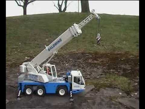 Lego Mobile Crane Model - All Terrain - Lego Construction Site
