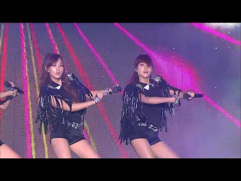 【TVPP】KARA - Jumping, 카라 - 점핑 @ Incheon Korean Music Wave Live