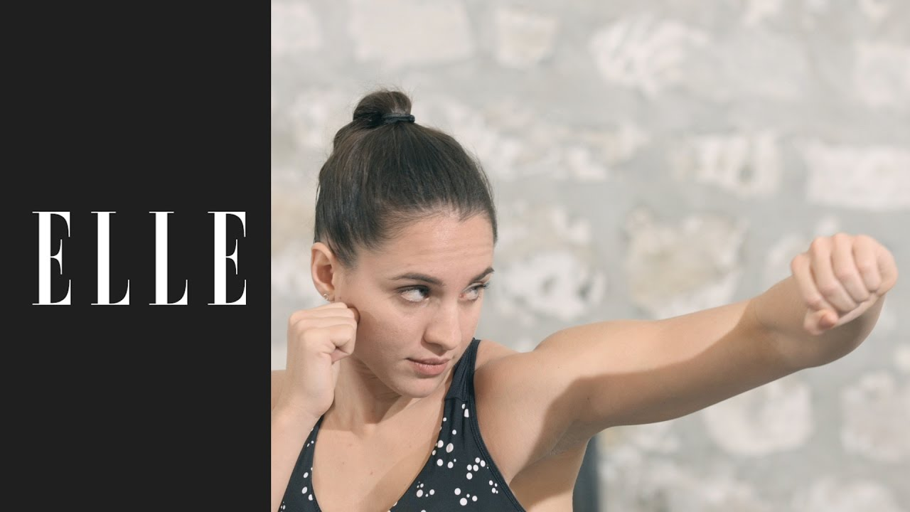 Les mouvements de base du kick-boxing┃ELLE Fitness ?