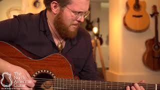 Andrew White Cybele 100J Jatoba Acoustic Guitar Played By Ben Smith (Part One)