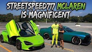 STREETSPEED717 720s MCLAREN is a MONSTER!!! Ft. TALLGUYCARREVIEWS