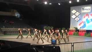CHS Lightning Military Hip Hop in Disney, 2010