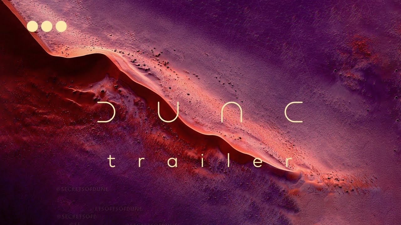 Nedir Bu Dune? - Trailer İnceleme