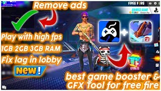 Fix Lag 1GB,2GB,3GB RAM Free Fire🔥  Wolf Game Booster & Gfx tool for Free Fire and PUBG screenshot 4