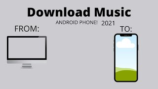 How to Download Music on PC and transfer it to your PHONE!   2021   Angela Buhian