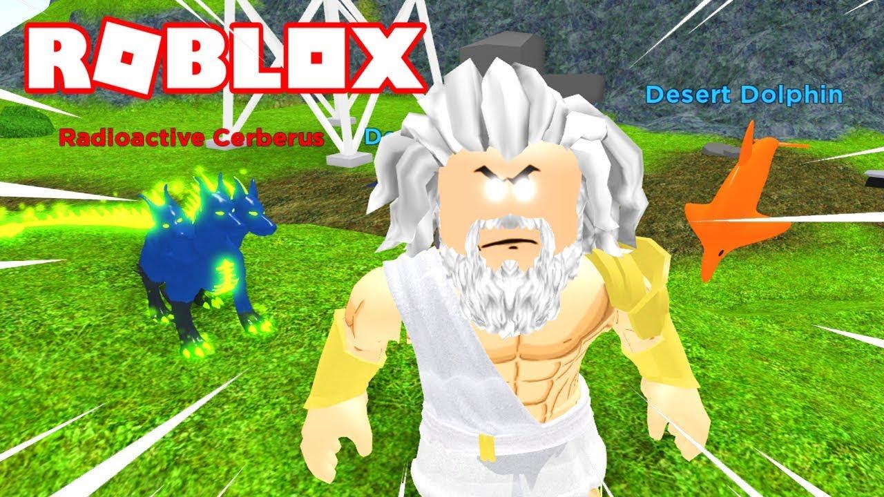 Cerberus Roblox - El Cerberus Mitico Radiactivo Roblox God Simulator