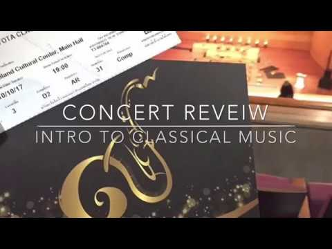Concert review : Intro to classical music