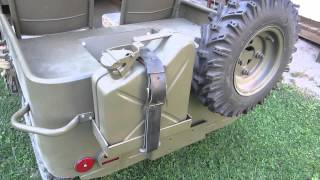 Home made mini willys mb