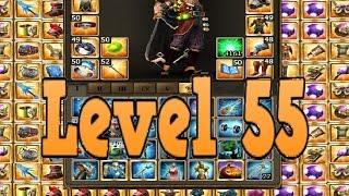 DRAKENSANG ONLINE - Level 55 open Cube and Leg. Items, Gems with Mage