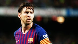 Lionel Messi - Goals, Assists & Skills - 2018/19