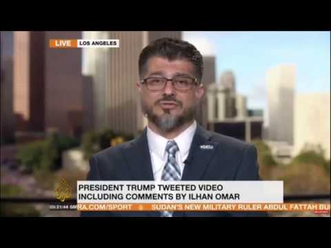 Video: Al-Jazeera Interviews CAIR-LA Director Hussam Ayloush After Trump Tweet Endangers Rep. Omar