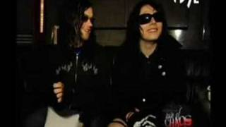 Bert & Gerard interview Taste of Chaos Special on FUSE