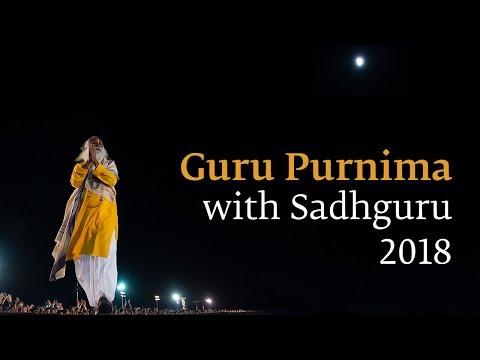 Guru Purnima 2018 Satsang With Sadhguru - Live Streamed